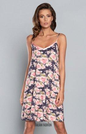 Italian Fashion Aralia kwiatowa koszulka nocna