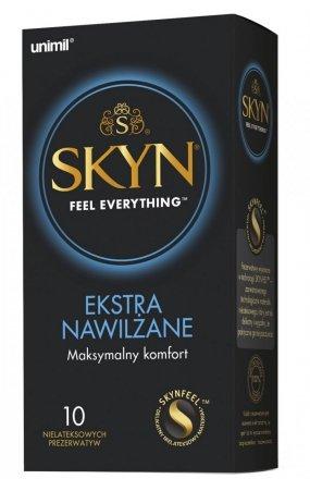 Unimil Skyn Ekstra Nawilżane 10 sztuk prezerwatywy
