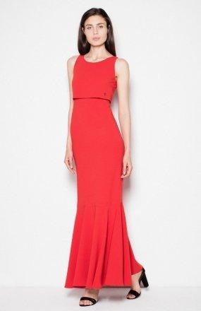 Venaton VT090 sukienka czerwona