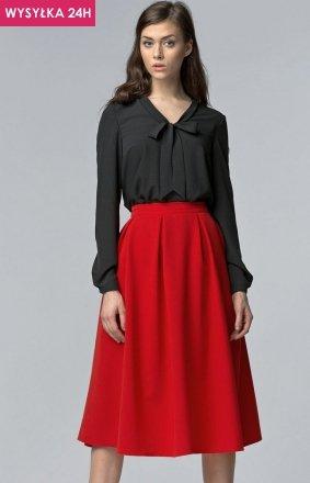*Nife SP27 spódnica czerwona