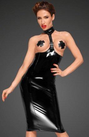 Noir F192 sukienka PVC