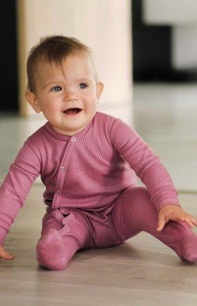 Bawełniany pajacyk niemowlęcy SLE.4292