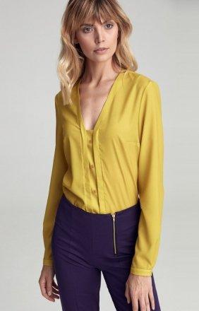 Limonkowa bluzka Nife cb31