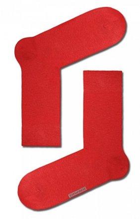 Diwari klasyczne męskie skarpety czerwone