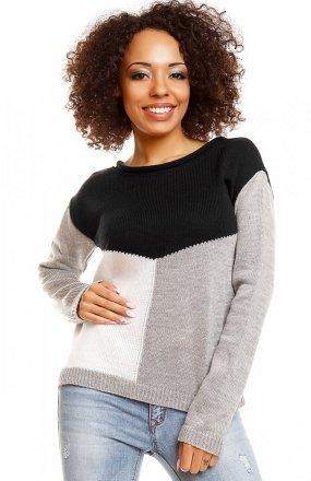 PeekaBoo 30042 sweter czarny