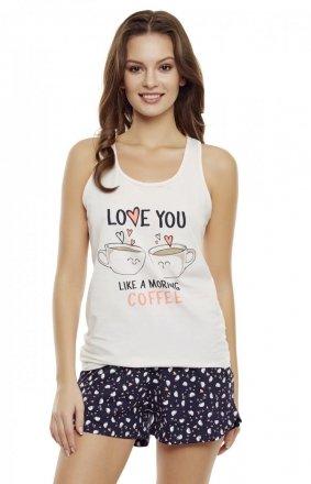 Henderson Ladies Piżama Danni 35831-03X Różowo-granatowa
