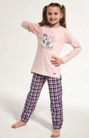 Cornette Young Girl 781/113 Scottie dł/r 134-164 piżama dziewczęca