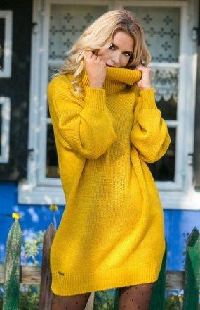 Fobya F577 sweter musztardowy