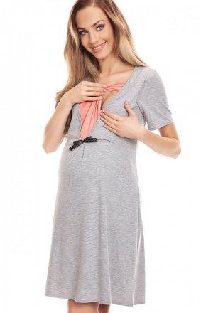 Ciążowa koszulka nocna damska 0132