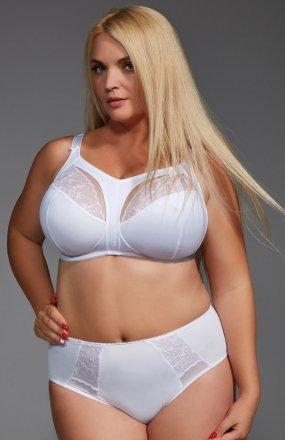 Krisline Afrodyta biustonosz miękki biały