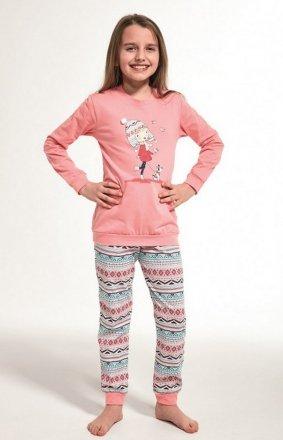 Cornette Kids Girl 594/107 Walk dł/r 86-128 piżama dziewczęca