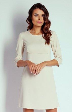 Nommo NA103 sukienka beżowa