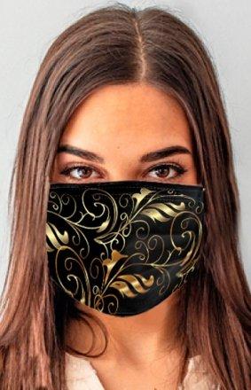 Maseczka ochronna modny print