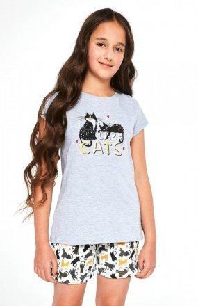 Cornette Young Girl 788/87 Cats piżama
