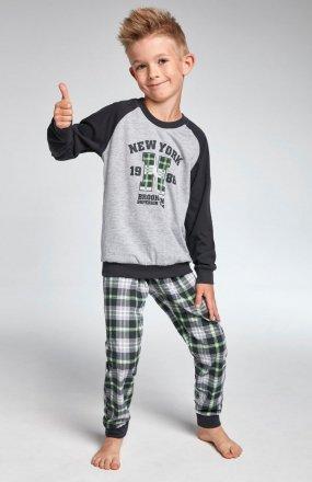 Piżama Cornette Kids Boy 178/86 New York dł/r 86-128
