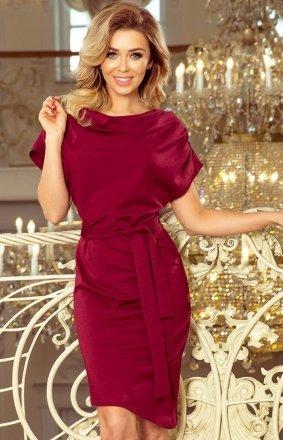 Sukienka z wiązanym paskiem Roxi Numoco 240-2