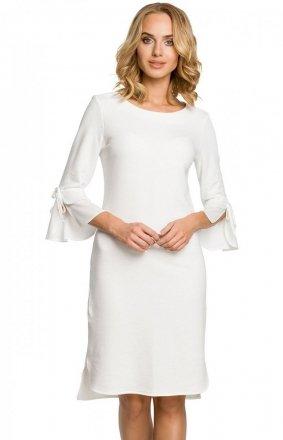Moe M327 sukienka ecru