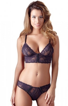 *Cottelli Collection Bra set biustonosz i figi