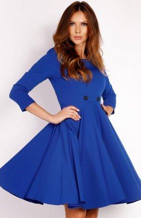 LOU LOU L003 sukienka niebieska