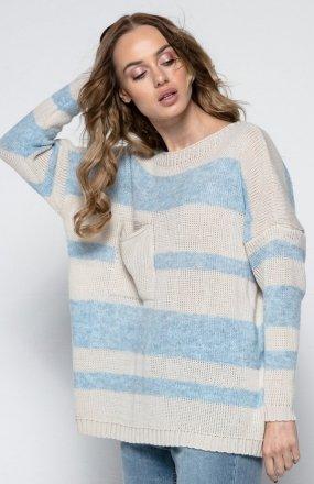 FIMFI I240 sweter beżowy