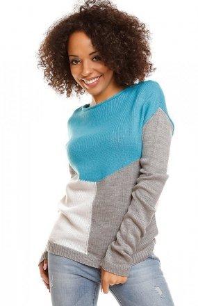 PeekaBoo 30042 sweter turkusowy