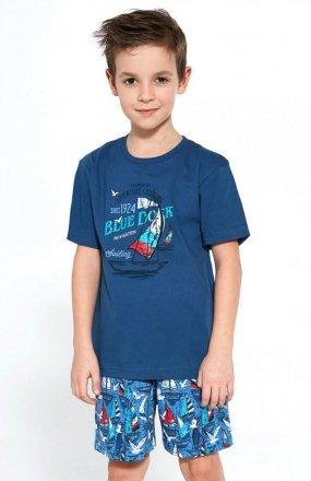 Cornette Young Boy 790/96 Blue Dock piżama