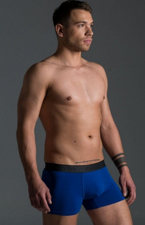 EXZO bokserki Classic niebieskie