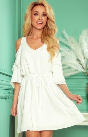 Letnia sukienka ecru Marina Numoco 292-4