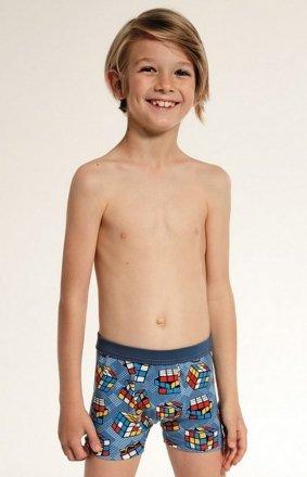 Cornette Young Boy 700/85 Cube bokserki chłopięce