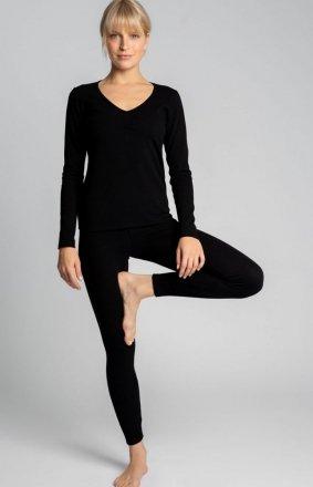Bawełniane legginsy damskie LA035