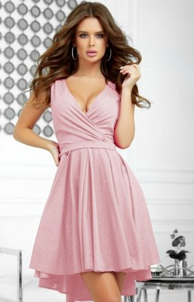 Elegancka błyszcząca sukienka 2215