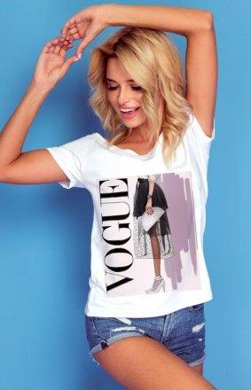 Bluzka z krótkim rękawem Vogue K300