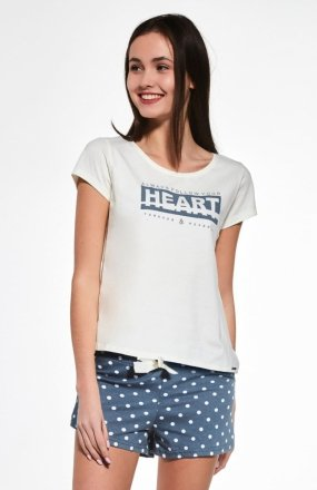 Cornette F&Y Girl 363/33 Heart piżama