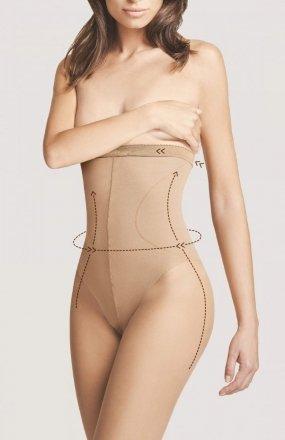 *Rajstopy Fiore Body Care High Waist Bikini M 5114 20 den