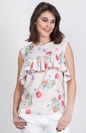 Milu by Milena Płatek MP341 bluzka kwiaty