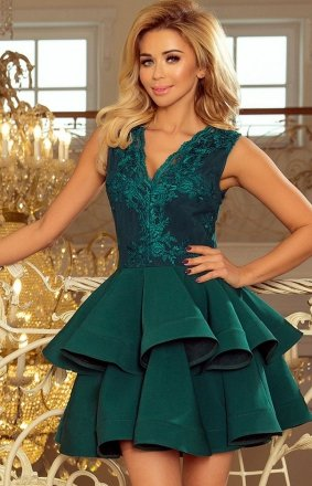 Numoco 200-6 Charlotte sukienka zielona