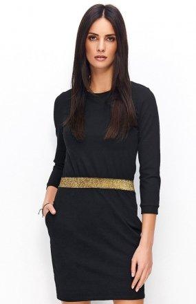 *Numinou NU72 sukienka czarna