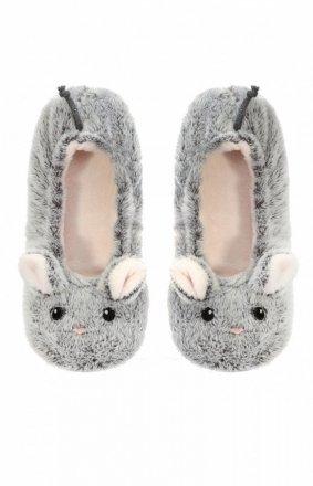 Henderson Ladies Pantofle Mimi 36558-90X Szare Myszki