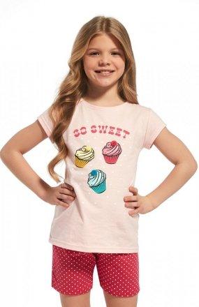 Piżama Cornette Young Girl 254/63 Sweet kr/r 134-164