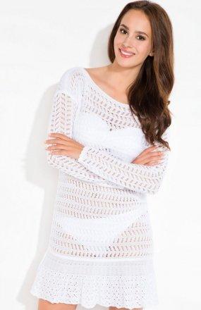 Fobya L121 sukienka biała