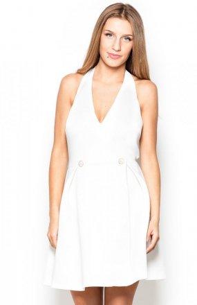 Katrus K386 sukienka ecru