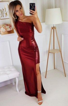 Bicotone wieczorowa sukienka 2203-10