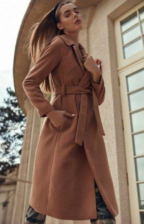 *Wiązany płaszcz Nife cpl02
