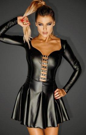 *Mini sukienka erotyczna F124