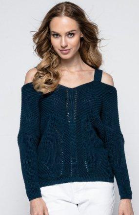 FIMFI I241 sweter granatowy
