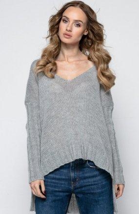 *FIMFI I243 sweter szary