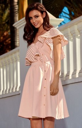 *Lemoniade L246 sukienka morelowa