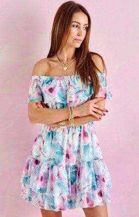 Letnia sukienka hiszpanka 0335/U57