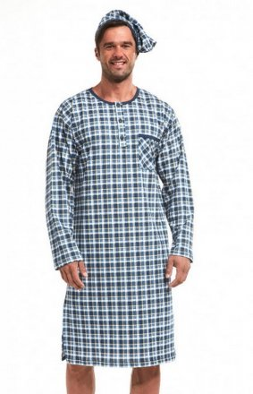 Cornette 110/640104 dł/r 3XL-5XL koszula nocna męska