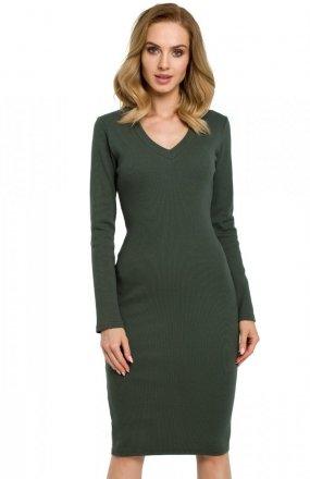 Moe M393 sukienka zielona